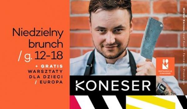 Going. | Brunch w Koneserze - bezpłatne atrakcje dla dzieci - Centrum Praskie Koneser