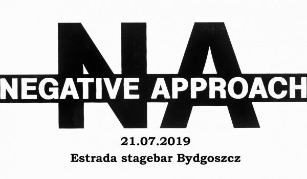 Going. | NEGATIVE APPROACH - jedyny koncert w Polsce - Estrada Stagebar