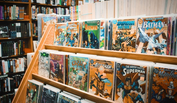 Going. | Laboratorium komiksu - warsztaty dla dzieci i młodzieży - Filia 29 MBP