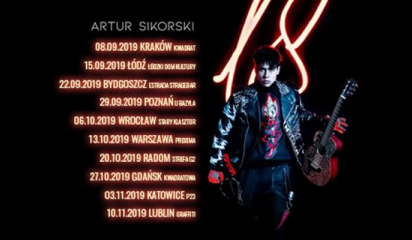 Going. | Artur Sikorski - Kraków, 08.09.2019 - Klub Studencki Kwadrat