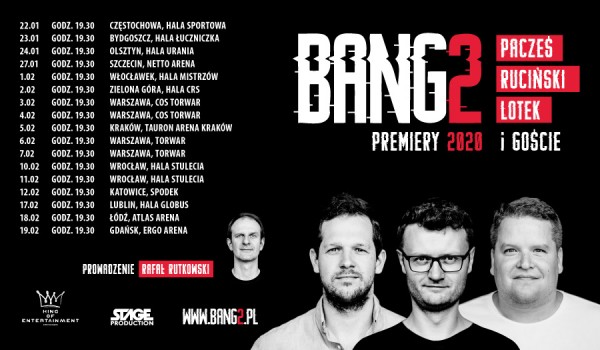 Going. | Bang2 - Premiery 2020 - TAURON Arena Kraków