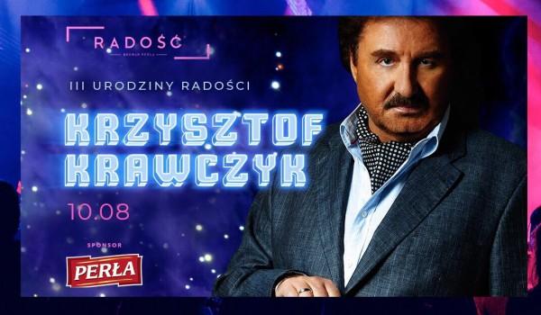 Going. | SOLD OUT / Krzysztof Krawczyk x III Urodziny Radości! - Radość