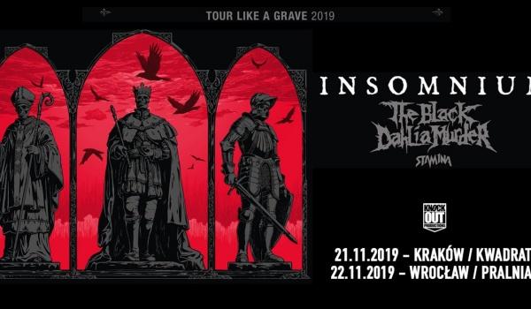 Going. | Insomnium + The Black Dahlia Murder | Kraków - Klub Studencki Kwadrat