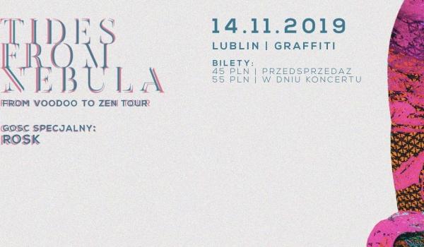 Going. | Tides From Nebula & ROSK | Lublin - Klub Graffiti