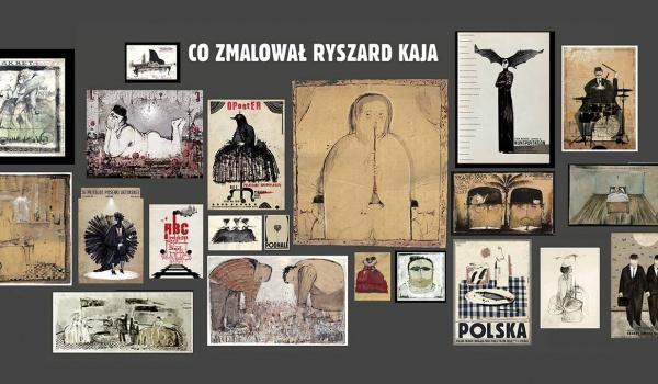 Going. | Co zmalował Ryszard Kaja - wystawa w Starym Browarze - Stary Browar