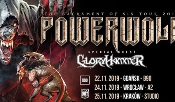 Going. | Powerwolf + Gloryhammer | Kraków - Klub Studio