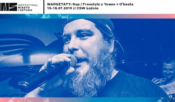 Going. | Warsztaty: Rap / Freestyle z Yowee i O'beats // Niefestiwal - Centrum Sztuki Współczesnej Łaźnia