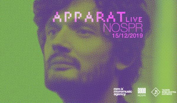 Going. | APPARAT Live | Katowice - NOSPR Katowice