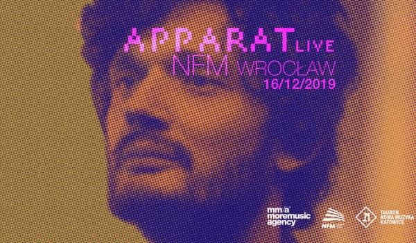 Going. | APPARAT Live | Wrocław - Narodowe Forum Muzyki
