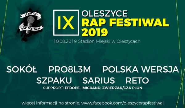 Going.   Oleszyce Rap Festiwal 2019 IX Edycja - Oleszyce