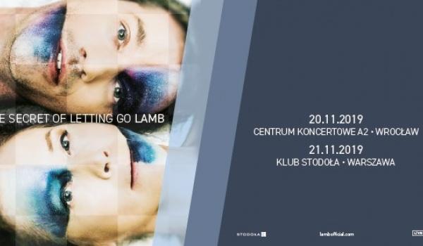 Going. | Lamb | Wrocław - A2 - Centrum Koncertowe