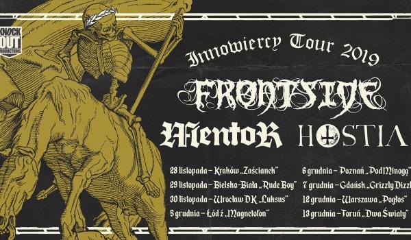 Going. | Frontside + Mentor, Hostia | Poznań - Klub Pod Minogą