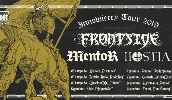 Going. | Frontside + Mentor, Hostia | Toruń - Dwa Światy