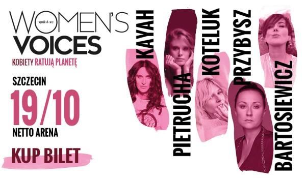 Going. | Women's Voices – Kobiety Ratują Planetę | Szczecin - Netto Arena