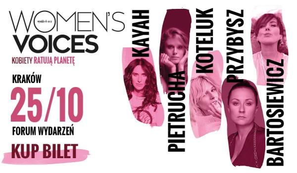Going. | Women's Voices – Kobiety Ratują Planetę | Kraków - Forum Wydarzeń