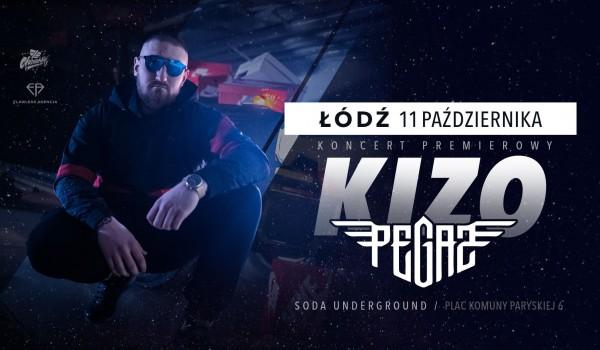 Going. | KIZO - Pegaz Tour / Łódź - SODA Underground Stage