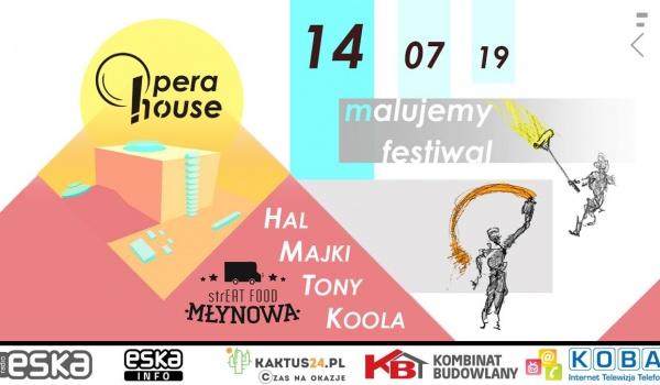 Going.   Before Opera House Festival - Streat Food Młynowa