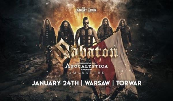 Going. | Sabaton + Apocalyptica, Amaranthe | Warszawa - Torwar