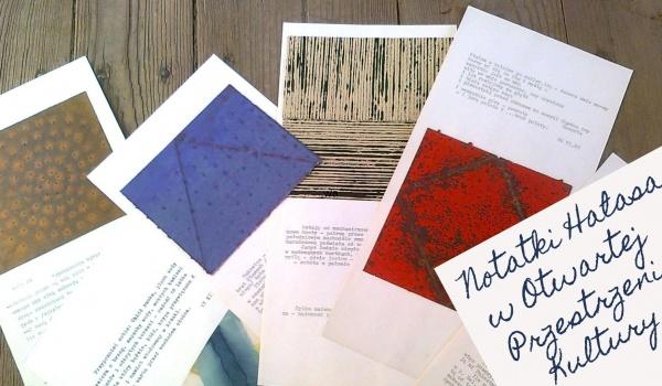 Going. | Notatki Hałasa // wystawa - Otwarta Przestrzeń Kultury