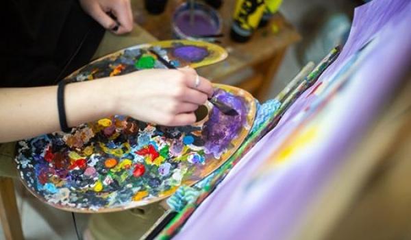 Going. | Wakacyjne warsztaty malarskie - Lubelska Szkoła Sztuki i Projektowania