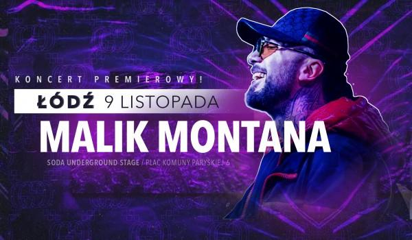 Going. | Malik Montana w Łodzi / Koncert premierowy - SODA Underground Stage