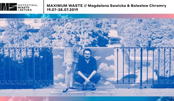 Going. | Maximum Waste // Magdalena Sawicka & Bolesław Chromry - Centrum Sztuki Współczesnej Łaźnia