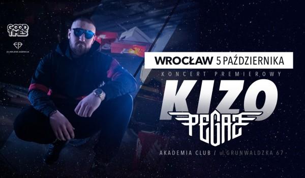Going. | KIZO - Pegaz Tour / Wrocław - Akademia Club
