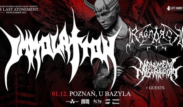Going. | Immolation, Ragnarok | Poznań - Klub u Bazyla