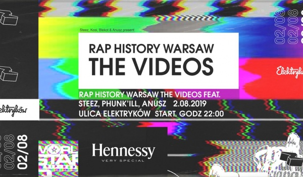 Going. | Rap History Warsaw: The Videos by Elektryków x Hennessy - Ulica Elektryków
