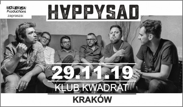 Going. | Happysad - Klub Kwadrat
