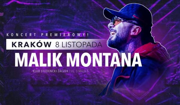 Going. | Malik Montana w Krakowie | Koncert premierowy - Klub Studencki Żaczek