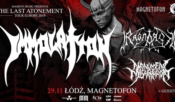 Going. | Immolation, Ragnarok | Łódź - Magnetofon