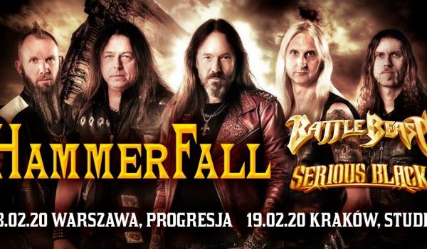Going. | Hammerfall | Kraków - Klub Studio
