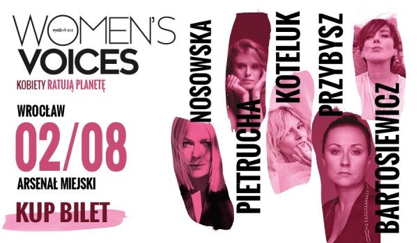 Going. | Women's Voices – Kobiety Ratują Planetę | Wrocław - Arsenał Miejski