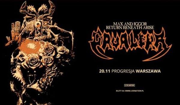 Going. | Max & Iggor Cavalera - Return Beneath Arise | Warszawa - Progresja
