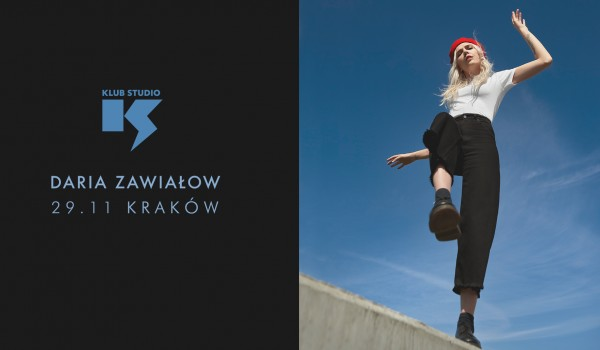 Going. | Daria Zawiałow - Helsinki Tour vol. 2 | Kraków - Klub Studio
