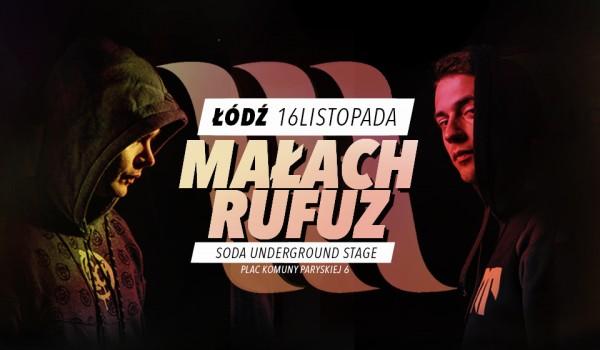 Going. | Małach & Rufuz | Łódź | Koncert premierowy - SODA Underground Stage