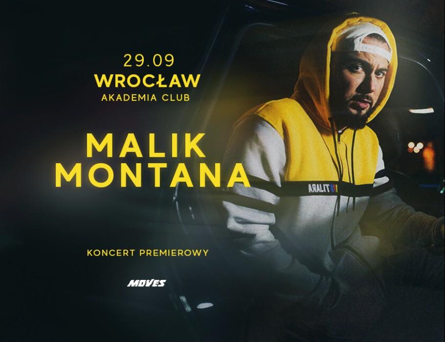 Malik Montana we Wrocławiu