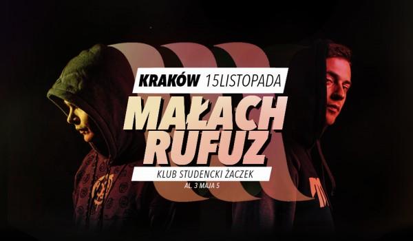 Going. | MAŁACH & RUFUZ w KRAKOWIE | Koncert premierowy - Klub Studencki Żaczek