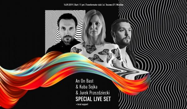 Going.   Special live set: An On Bast & Kuba Sojka & Jurek Przezdziecki - Transformator