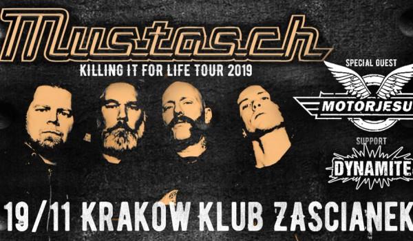 "Going. | Mustasch ""Killing It for Life Tour"" + Motorjesus + Dynamite - Klub Zaścianek"