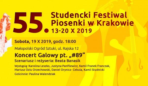 Going. | Koncert Galowy 55. Studenckiego Festiwalu Piosenki pt. #89 - Małopolski Ogród Sztuki