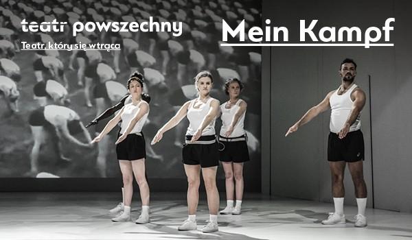 Going. | Mein Kampf - Scena Duża, Teatr Powszechny im. Zygmunta Hübnera