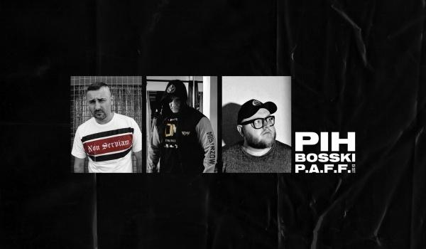 Going.   Koncert: Pih / Bosski / PAFF - Klub Studencki Żaczek