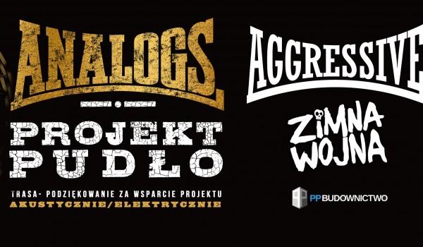 Going. | The Analogs / Projekt Pudło, AGGRESSIVE, ZIMNA WOJNA - Klub Zaścianek
