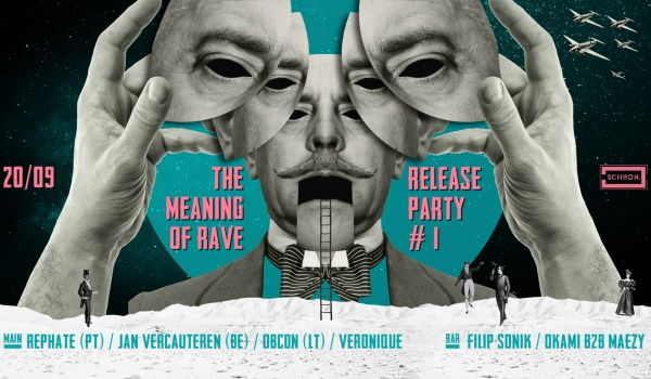 Going. | The Meaning of Rave Release Party - Schron