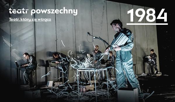 Going. | 1984 - Scena Duża, Teatr Powszechny im. Zygmunta Hübnera