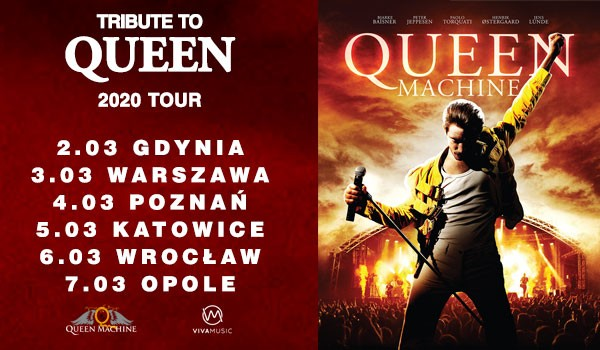 Going. | Queen Machine | Gdynia - Hala Gdynia Arena