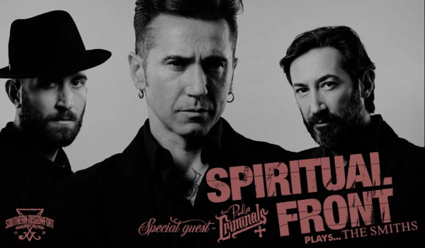 Going. | Spiritual Front plays The Smiths + guest: Them Pulp Criminals - Klub Alchemia