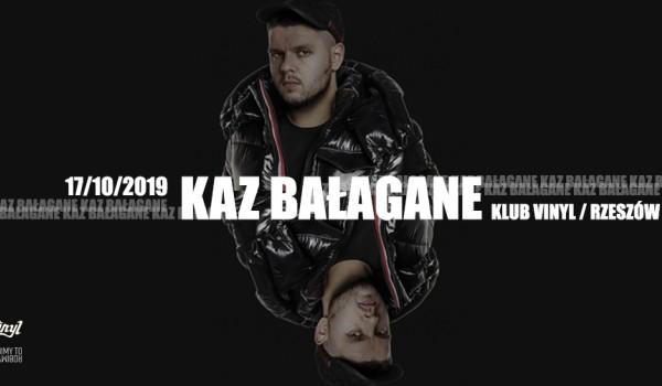 """Going.   Kaz Bałagane """"Książę Nieporządek"""" - koncert premierowy   Rzeszów - Klub Vinyl"""